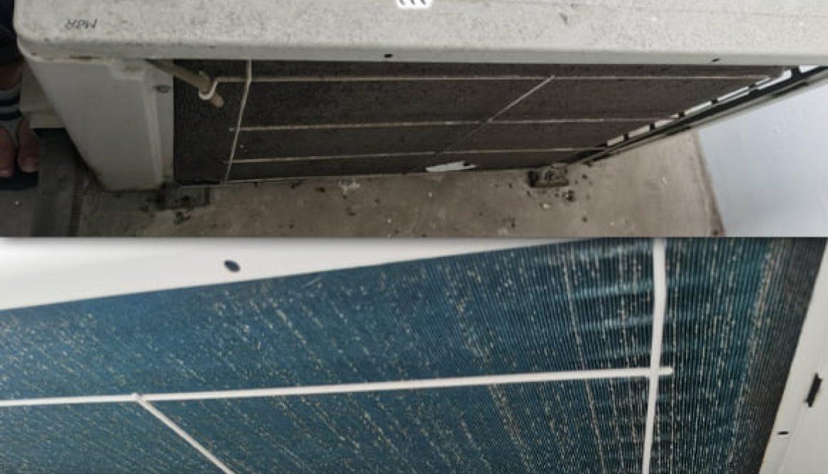 aircon leakage