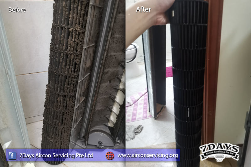 aircon servicing recommendation