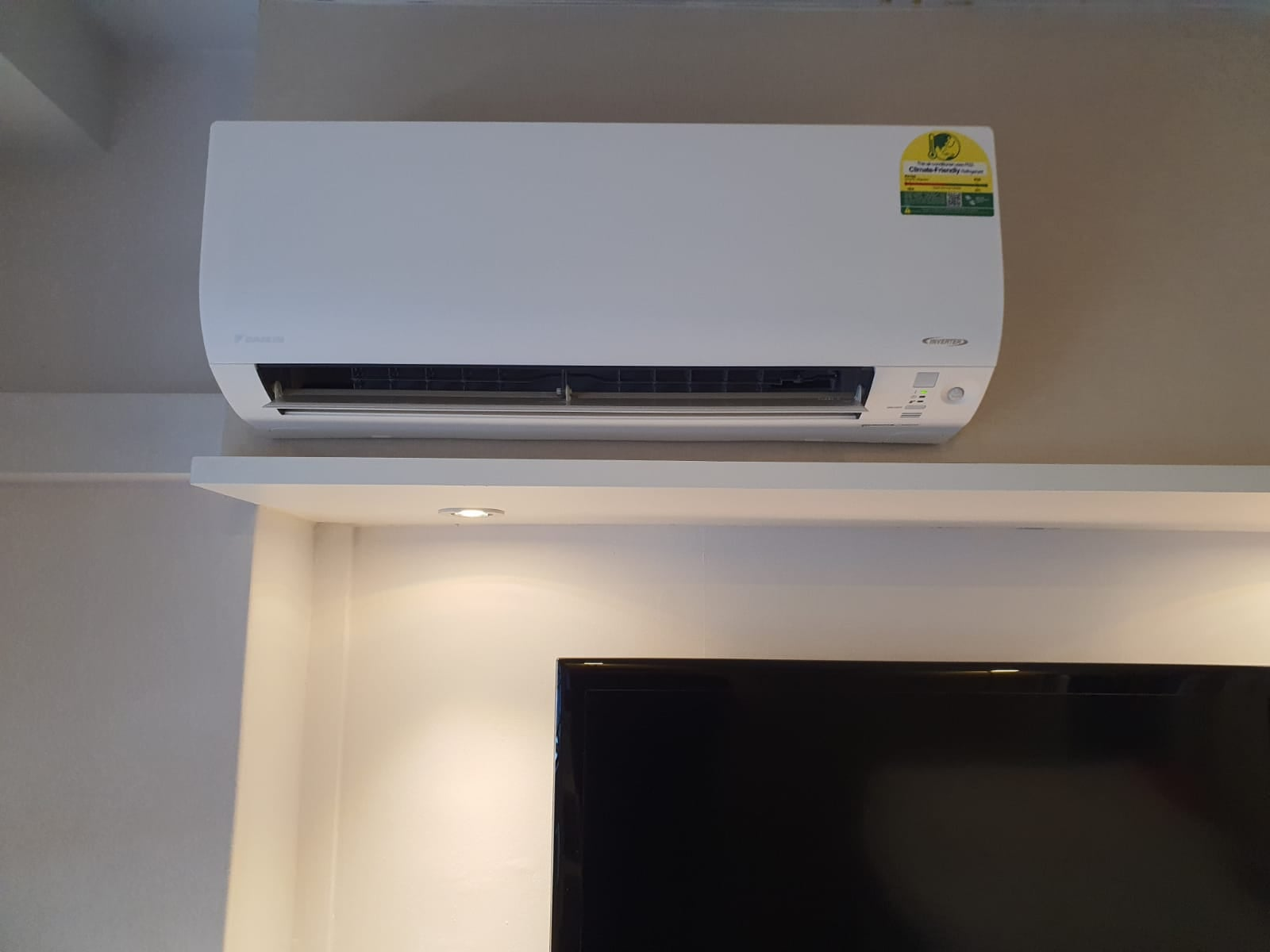 aircon trunking leaking