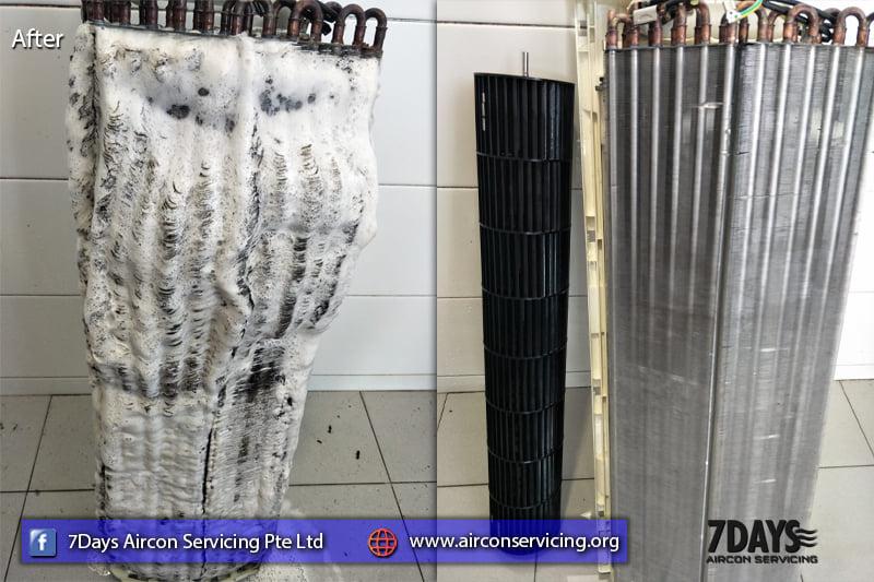 window unit aircon servicing singapore